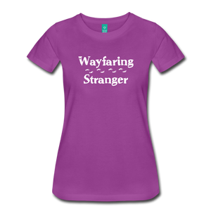 Women's Wayfaring Stranger T-Shirt - light purple