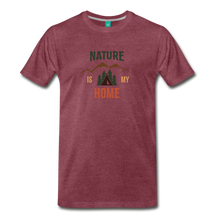 Load image into Gallery viewer, Men's Nature - heather burgundy