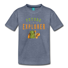 Load image into Gallery viewer, Kids' Future Explorer T-Shirt - heather blue