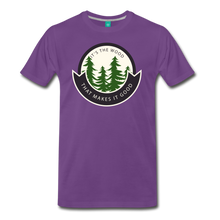 Load image into Gallery viewer, Men's Its the Wood T-Shirt - purple