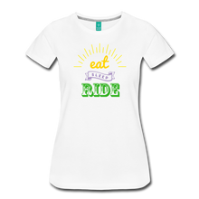 Load image into Gallery viewer, Women's Eat Sleep Ride T-Shirt - white