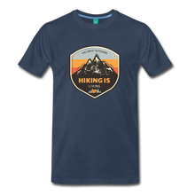 Load image into Gallery viewer, Men's Hiking T-Shirt - navy