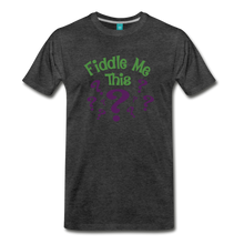 Load image into Gallery viewer, Men's Fiddle Me This T-Shirt - charcoal gray