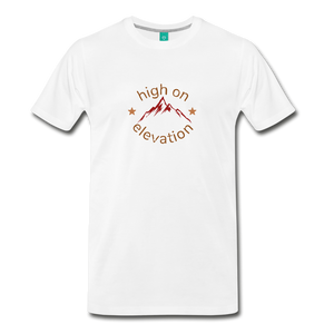 Men's High on Elevation T-Shirt - white