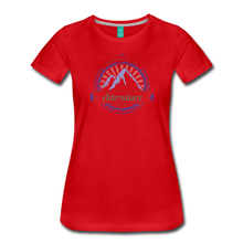 Load image into Gallery viewer, Women's Take me on an Adventure T-Shirt - red