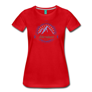 Women's Take me on an Adventure T-Shirt - red