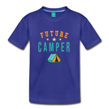 Load image into Gallery viewer, Toddler Future Camper T-Shirt - royal blue