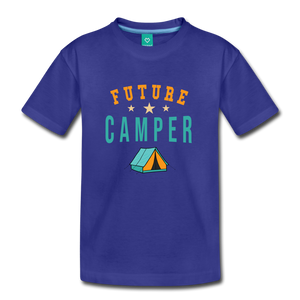 Toddler Future Camper T-Shirt - royal blue