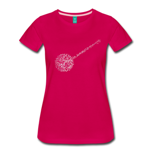 Women's Cripple Creek T-Shirt - dark pink