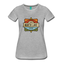 Load image into Gallery viewer, Women's North Lake T-Shirt - heather gray