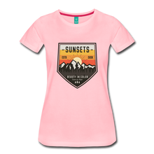 Load image into Gallery viewer, Women's Sunset T-Shirt - pink