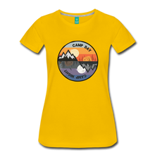 Load image into Gallery viewer, Women's Camp Day T-Shirt - sun yellow