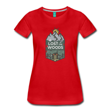 Load image into Gallery viewer, Women's Lost T-Shirt - red