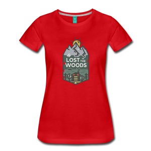 Women's Lost T-Shirt - red