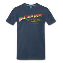 Load image into Gallery viewer, Men's Bluegrass Chosen Wisely T-Shirt - navy