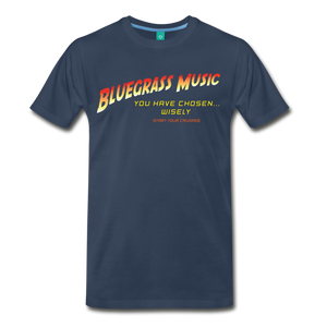 Men's Bluegrass Chosen Wisely T-Shirt - navy