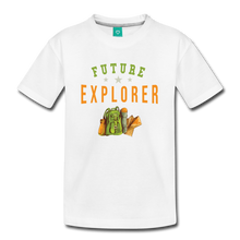 Load image into Gallery viewer, Kids' Future Explorer T-Shirt - white