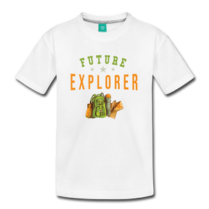 Kids' Future Explorer T-Shirt - white