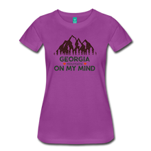 Load image into Gallery viewer, Women's Georgia on my Mind T-Shirt - light purple