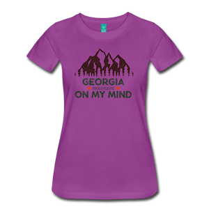 Women's Georgia on my Mind T-Shirt - light purple