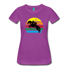 Load image into Gallery viewer, Women's Jumping Sun T-Shirt - light purple