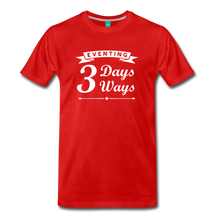 Load image into Gallery viewer, Men's 3 Days 3 Ways T-Shirt - red