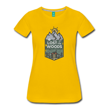 Load image into Gallery viewer, Women's Lost T-Shirt - sun yellow