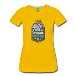 Women's Lost T-Shirt - sun yellow