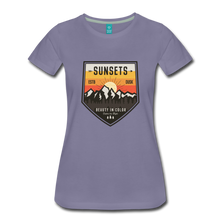 Load image into Gallery viewer, Women's Sunset T-Shirt - washed violet