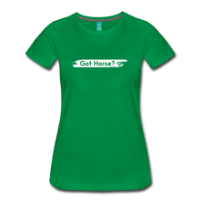 Load image into Gallery viewer, Women's Got Horse T-Shirt - kelly green