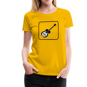 Women's Dobro Icon T-Shirt - sun yellow