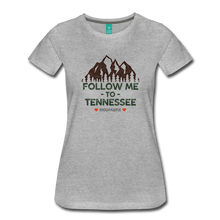 Load image into Gallery viewer, Women's Follow me to Tennessee T-Shirt - heather gray