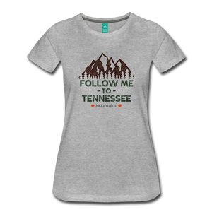 Women's Follow me to Tennessee T-Shirt - heather gray