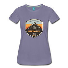 Load image into Gallery viewer, Women's Hiking T-Shirt - washed violet