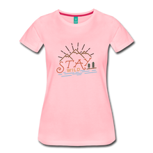 Load image into Gallery viewer, Women's Stay Wild T-Shirt - pink