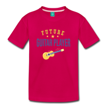 Load image into Gallery viewer, Toddler Guitar Player T-Shirt - dark pink