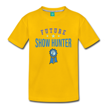Load image into Gallery viewer, Kids' Future Show Hunter T-Shirt - sun yellow