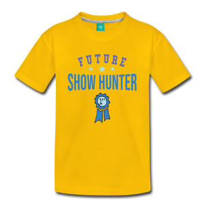 Kids' Future Show Hunter T-Shirt - sun yellow