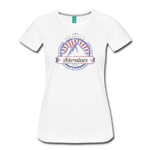 Load image into Gallery viewer, Women's Take me on an Adventure T-Shirt - white