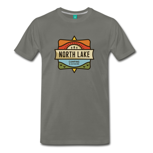 Men's North Lake T-Shirt - asphalt