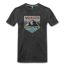 Load image into Gallery viewer, Men's Wnderer T-Shirt - charcoal gray