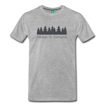 Load image into Gallery viewer, Men's Keep It Simple T-Shirt - heather gray