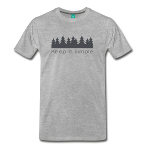 Men's Keep It Simple T-Shirt - heather gray