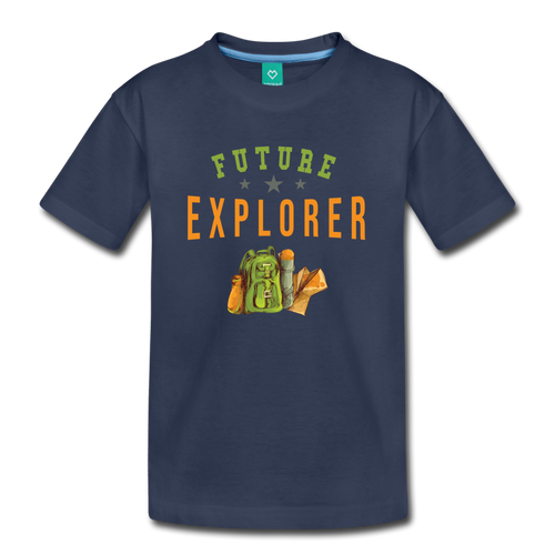Kids' Future Explorer T-Shirt - navy