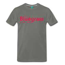 Load image into Gallery viewer, Men's Bluegrass Kinda Life T-Shirt - asphalt