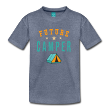 Load image into Gallery viewer, Kids' Future Camper T-Shirt - heather blue