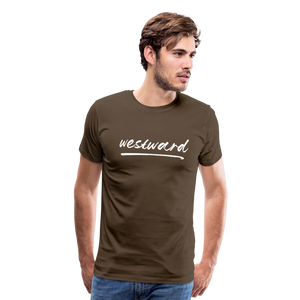 Men's Westward T-Shirt - noble brown