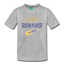Load image into Gallery viewer, Toddler Guitar Player T-Shirt - heather gray