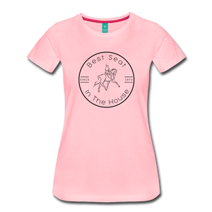 Women's Best Seat in the House T-Shirt - pink