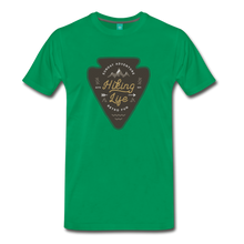 Load image into Gallery viewer, Men's Hiking Life T-Shirt - kelly green